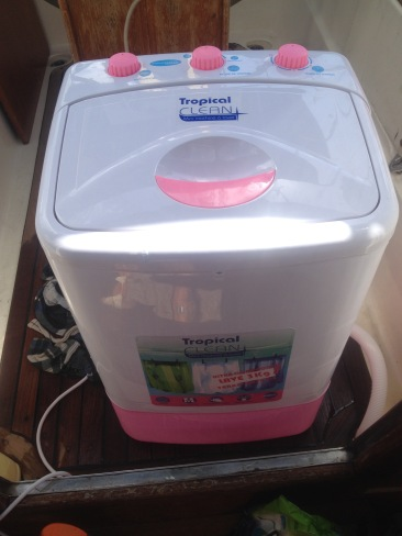 The portable washing machine